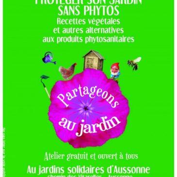 Atelier «partageons les jardins»