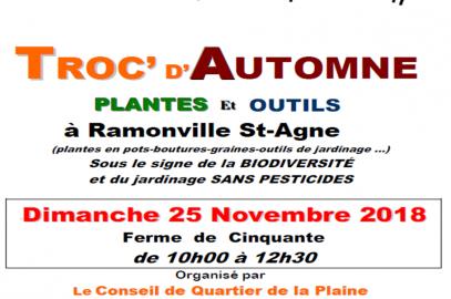 Prochain troc de plantes : Ramonville