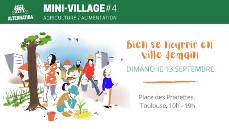 Ce dimanche venez visiter le mini-village Alternatiba !